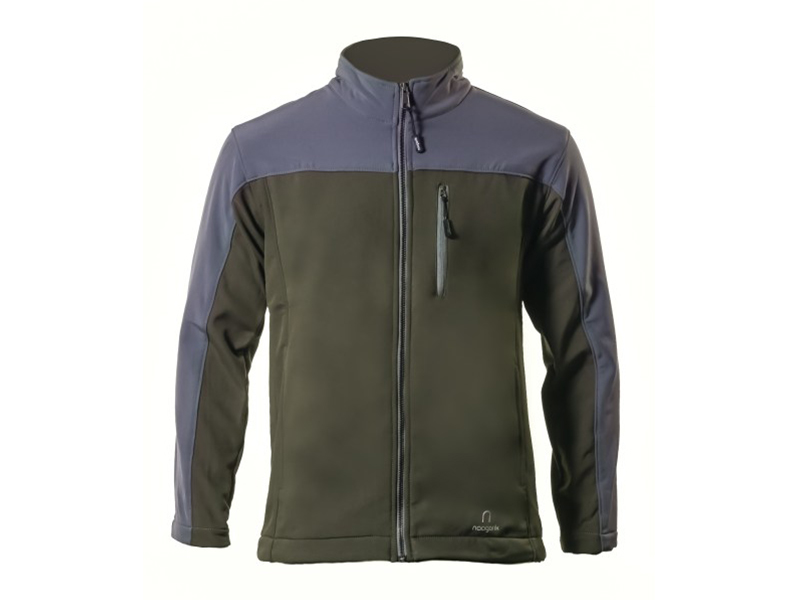 Xen Umber Grey Soft Shell Jacket