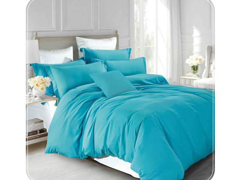 Ortha king size double part comforter - Aquamarine
