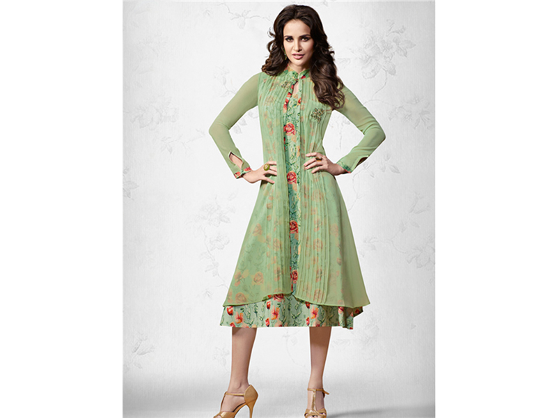 Bombay Pesto Colour Kurti - 003