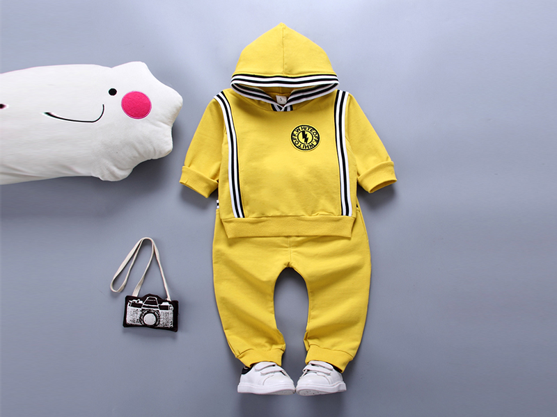 Yellow Hoodie and Pant for Kids