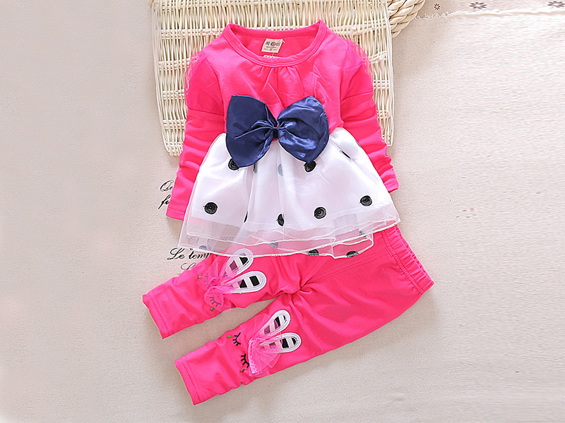 Hot Pink Frock Pant for Kids