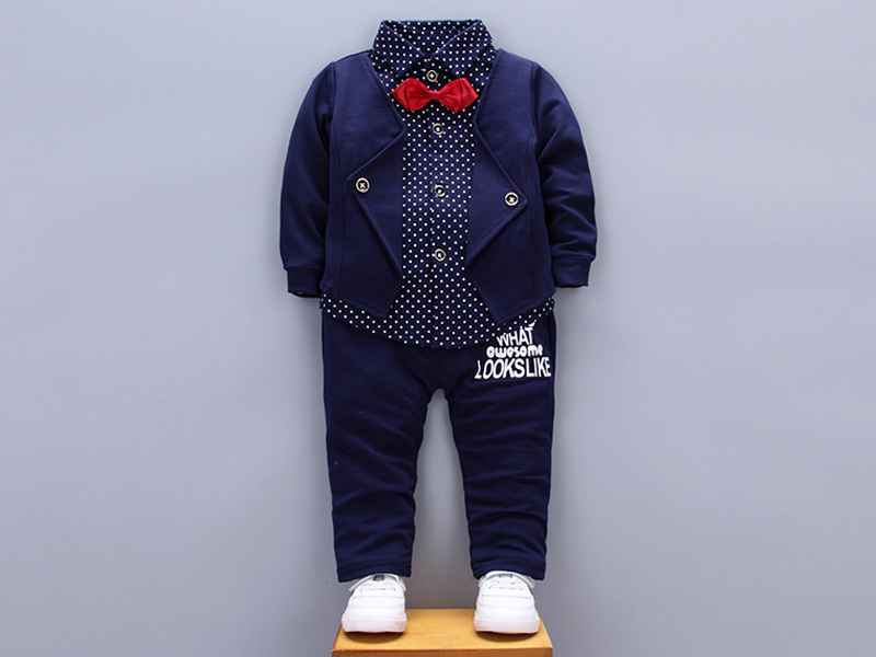 Navy Blue Shirt and Pant for Kids