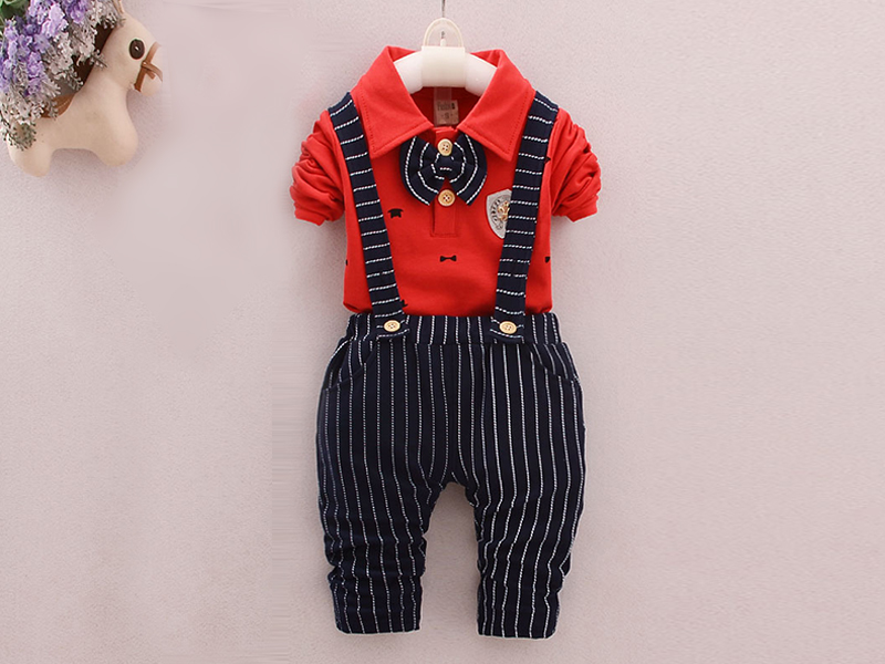 Red Shirt and  Black Pant for Kids