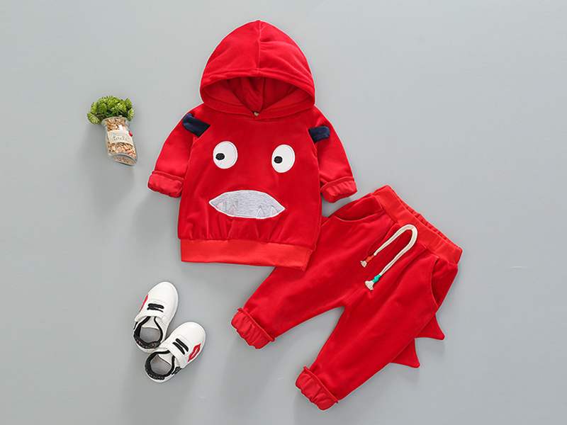Red Hoodie and Pant for Kids