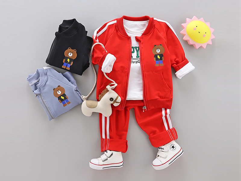 Red Jacket And Red Pant For Kids