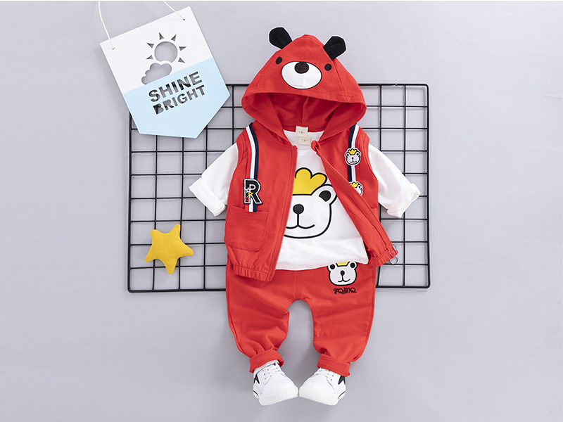 Red Hoodie and Red Pant for Kids