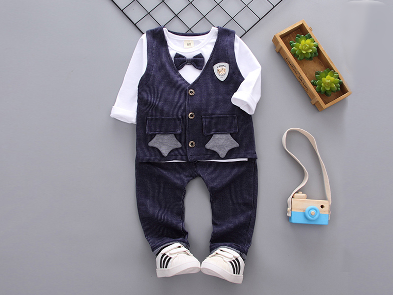Blue Jacket And Blue Pant For Kids