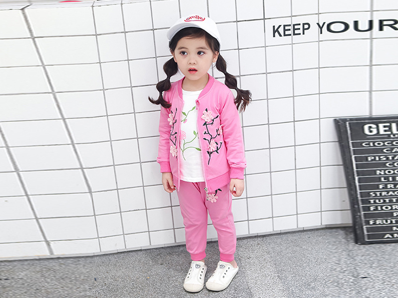 Pink Jacket And Pink Pant For Kids