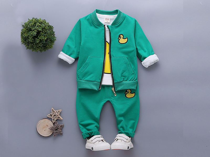 Green Jacket and Pant for Kids