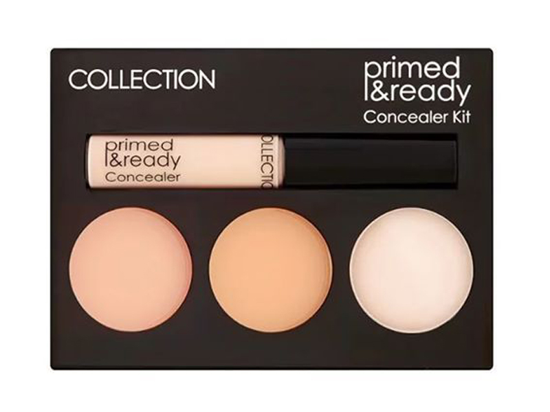 Collection Primed & Ready Concealer Kit Nudes