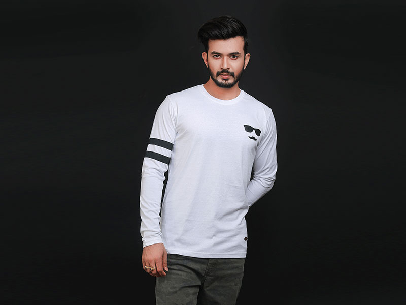 Special Men's Full Sleeve T-Shirt-SW3469T