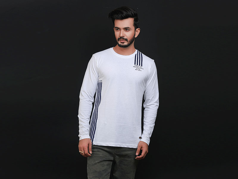 Special Men's Full Sleeve T-Shirt-SW3470T