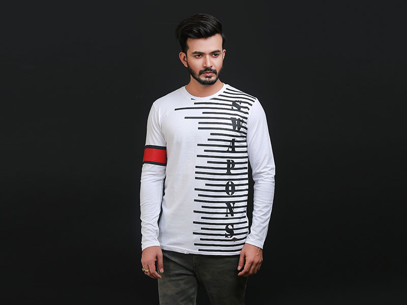 Special Men's Full Sleeve T-Shirt-SW3472T