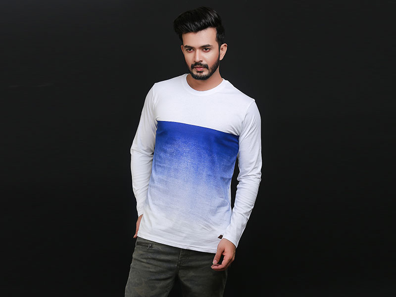 Special Men's Full Sleeve T-Shirt-SW3473T