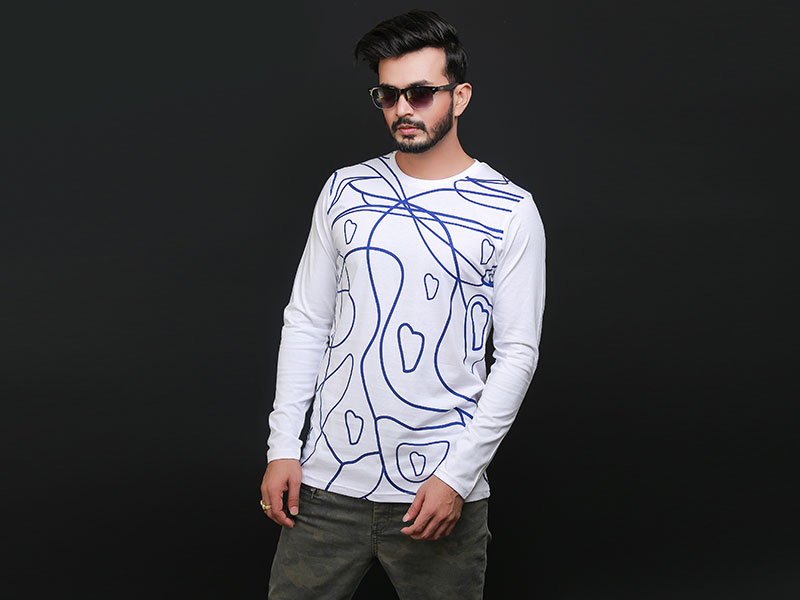 Special Men's Full Sleeve T-Shirt-SW3474T