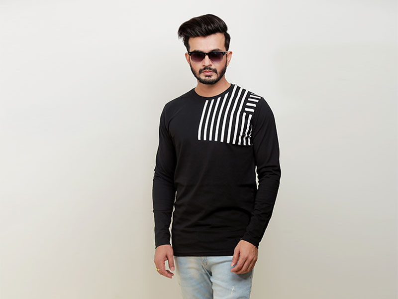 Special Men's Full Sleeve T-Shirt-SW3477T