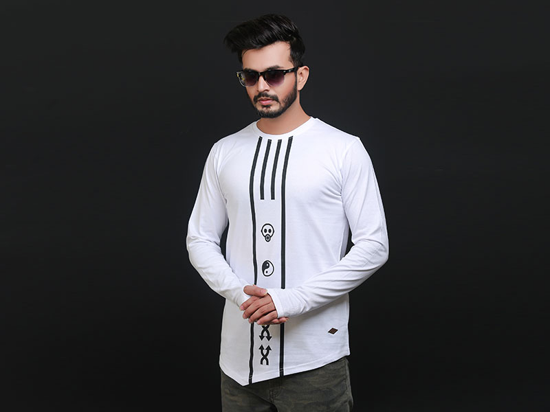 Special Men's Full Sleeve T-Shirt-SW3479T