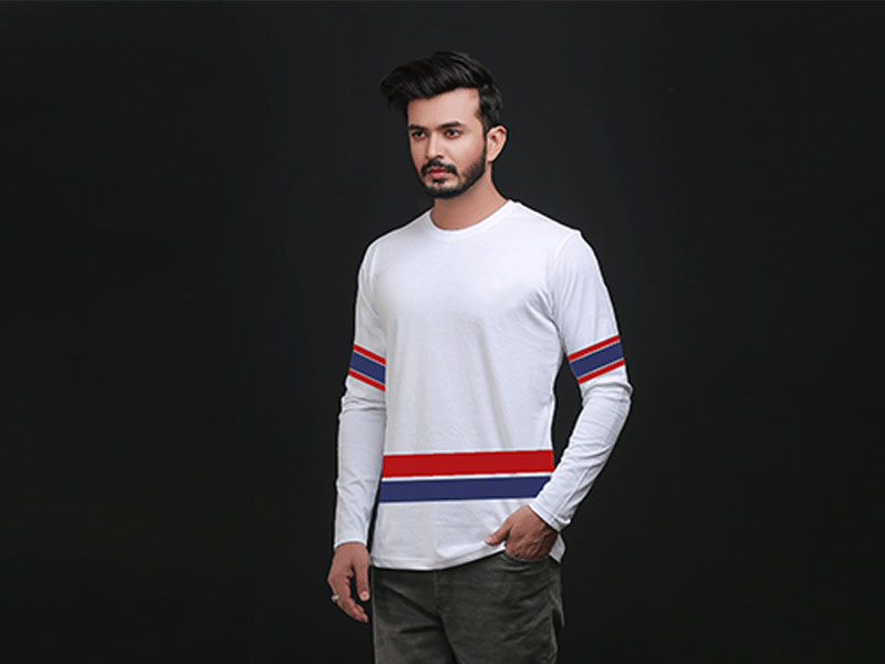 Special Men's Full Sleeve T-Shirt-SW3467T