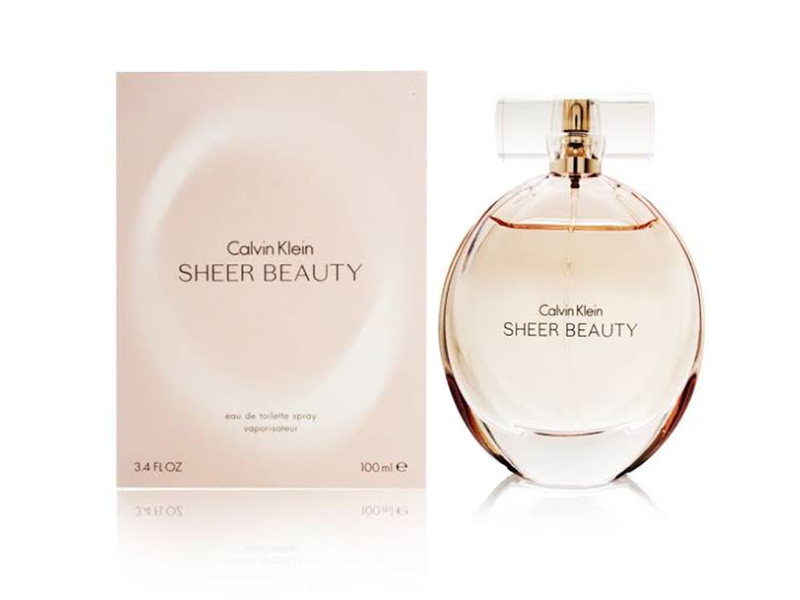 CK SHEER BEAUTY L 100ML EDT