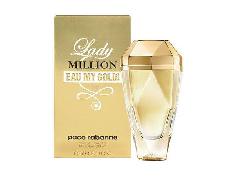 1 MILLION EAU MY GOLD W EDT 80ML