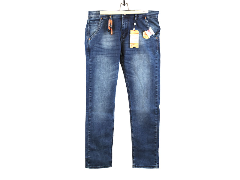 Men's Casual Blue Jeans Pants-URP94