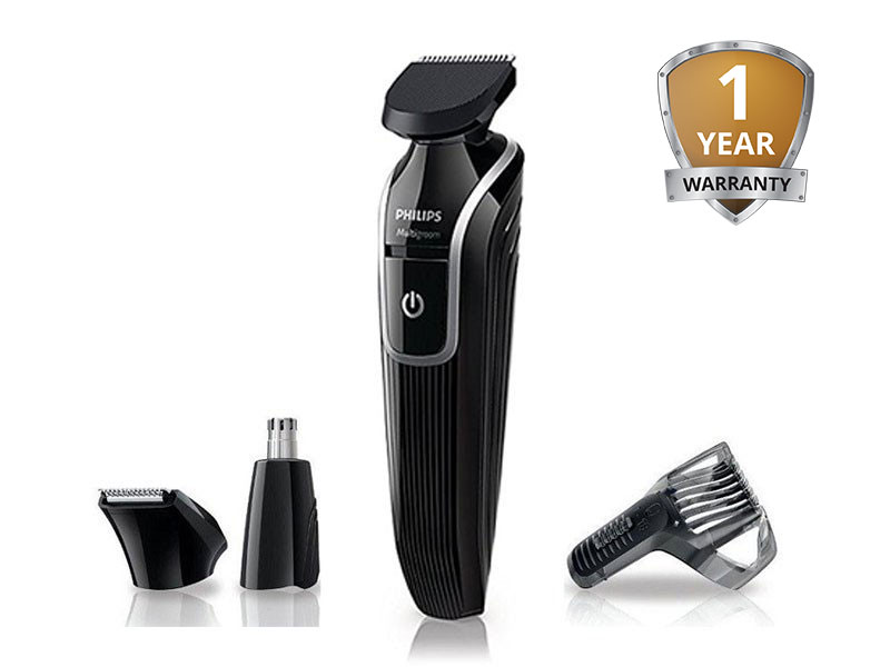 Philips Original indonesia Beard Trimmer With Nose Hair Washing QG3320/15