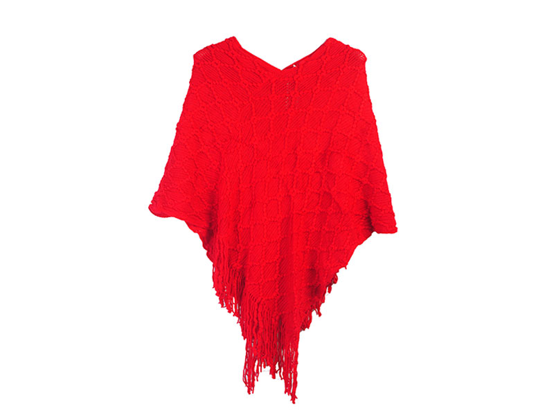 Red Winter Shrug for Women