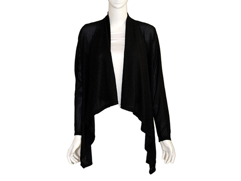 Black Winter Shrug for Women