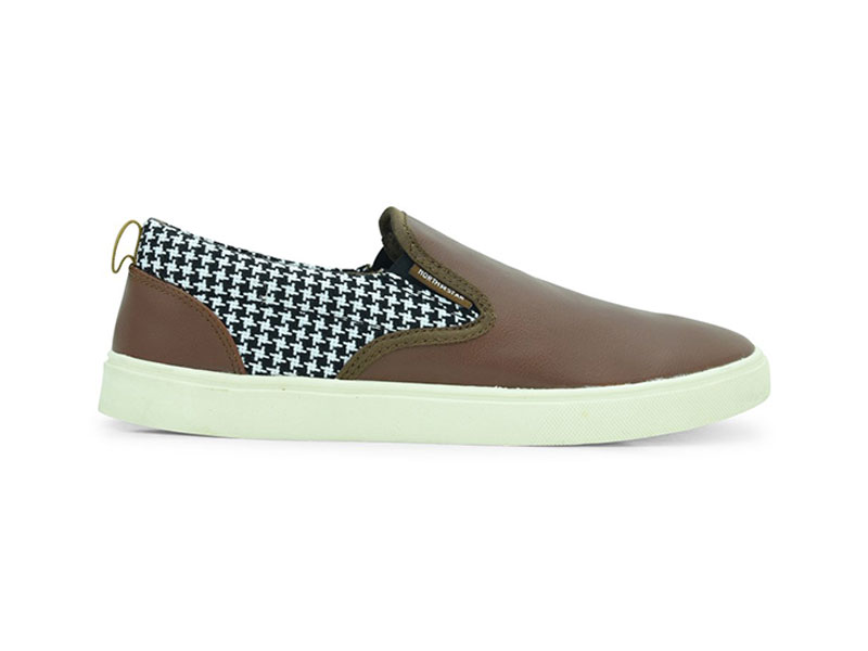 North Star Brown Casual Shoes For Men