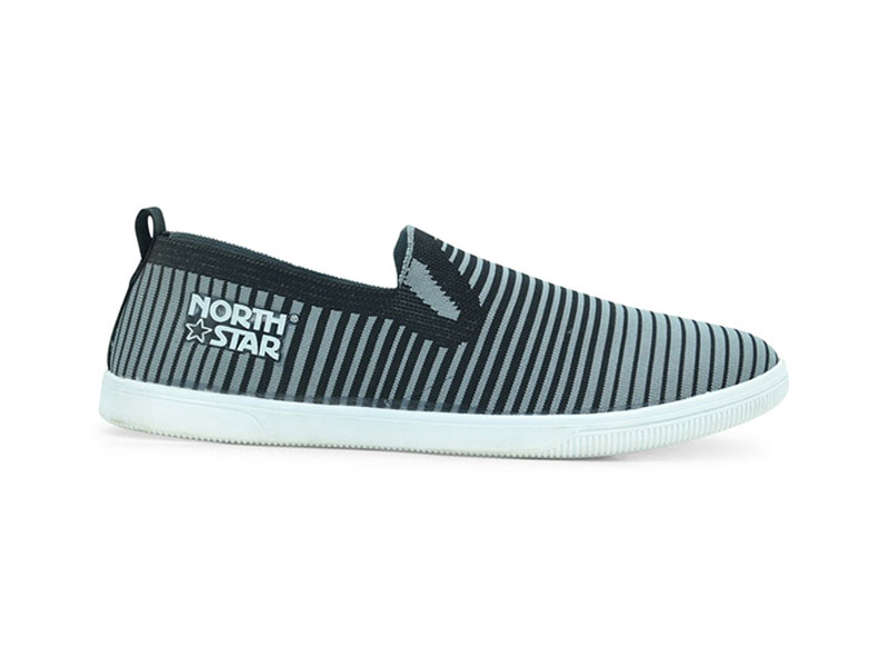 North Star Grey Casual Shoes For Men-8892091