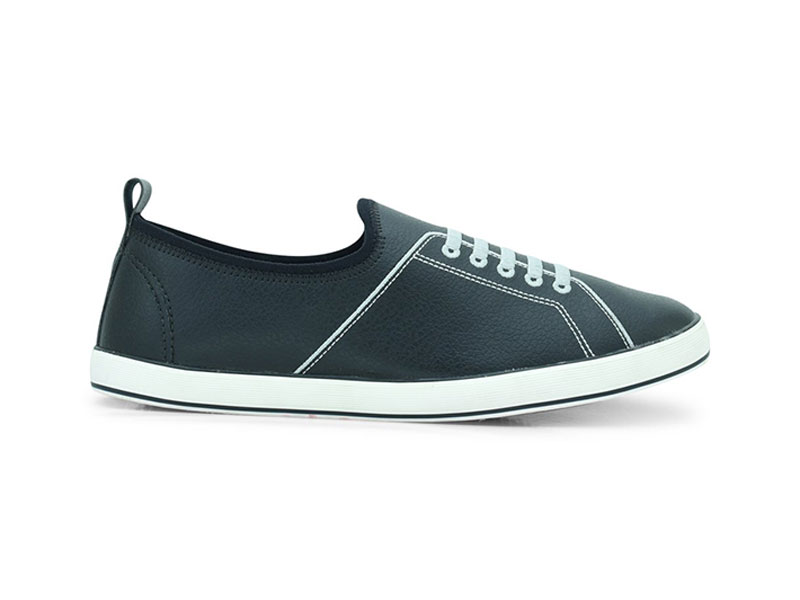 North Star Black Casual Shoes For Men-8896023