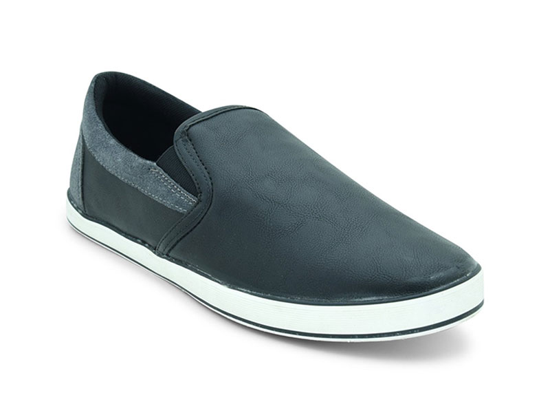 North Star Black Casual Shoes For Men-8896011