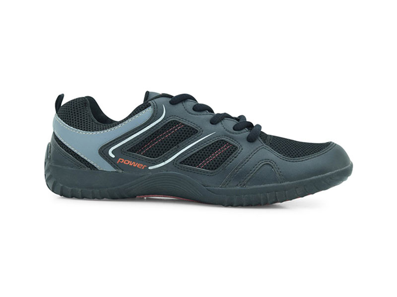 Power Black Outdoor Shoes For Men-8086044