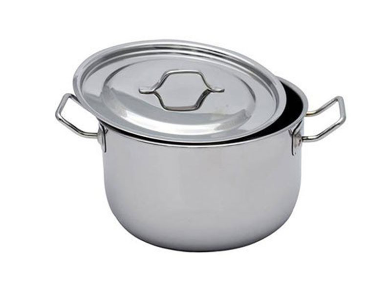 Induction Sos Pot Stainless Steel lid & Handle (18cm)