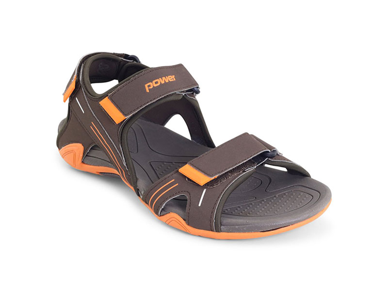 Brown Sporty Sandals For Men-8614029