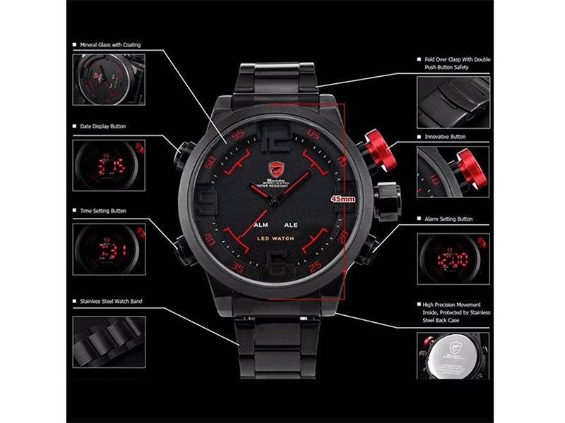 SHARK Analog Sports Watch