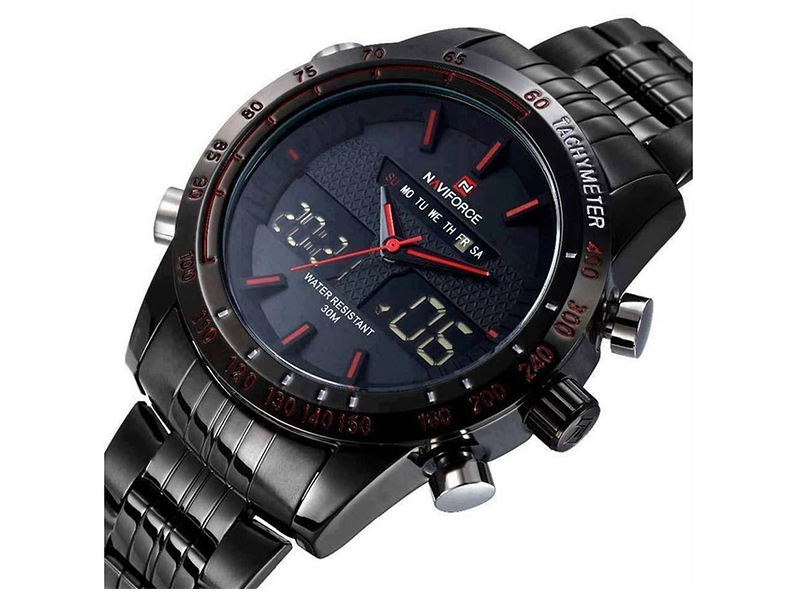 NAVIFORCE Wrist Watch Black