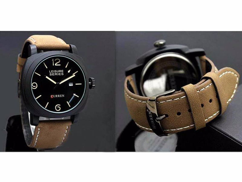 Curren Stylish Gents Watch (Replica)