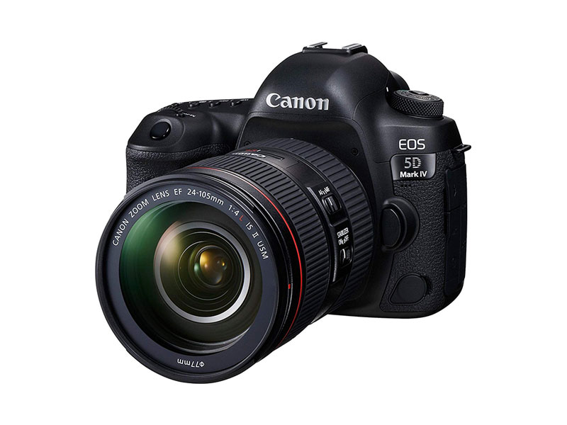 Canon EOS 5D Mark IV Camera with EF 24-105mm f/4L USM II Lens