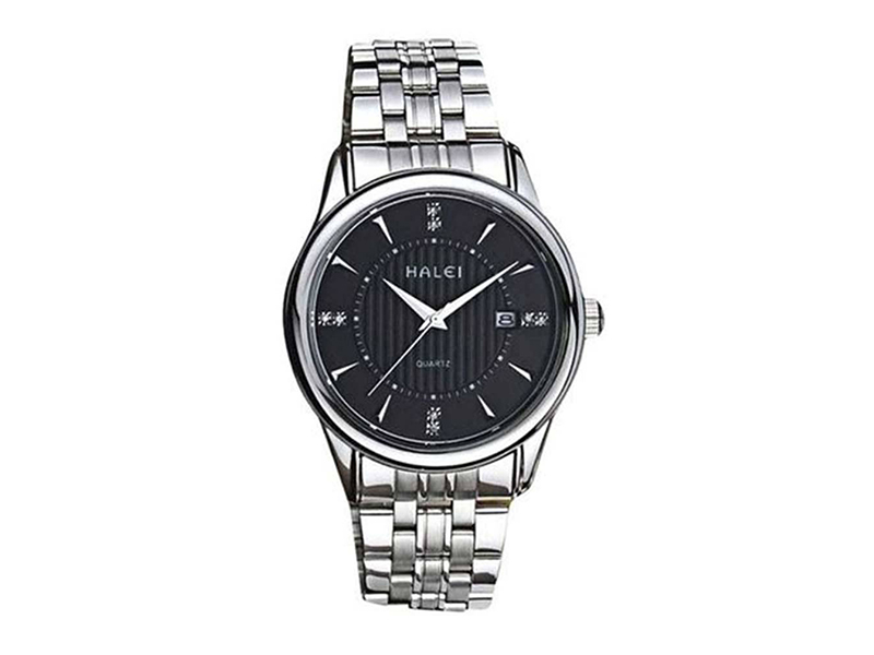 Silver Stainless Wrist Watch For Men