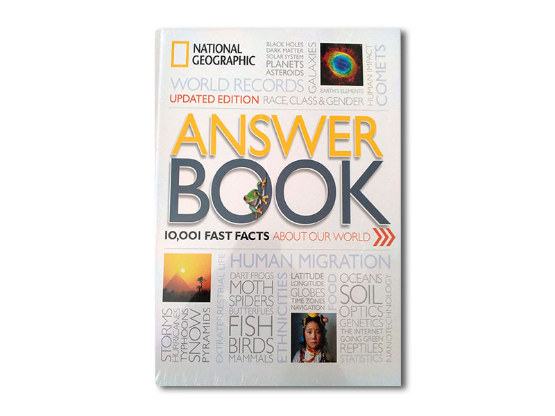 Answer Book,10001 Fast Facts About our World