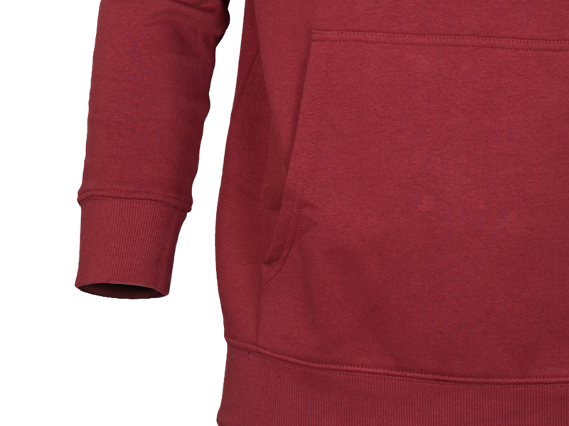 Men's Stylish Maroon Hoodie Sweat Shirt (L)