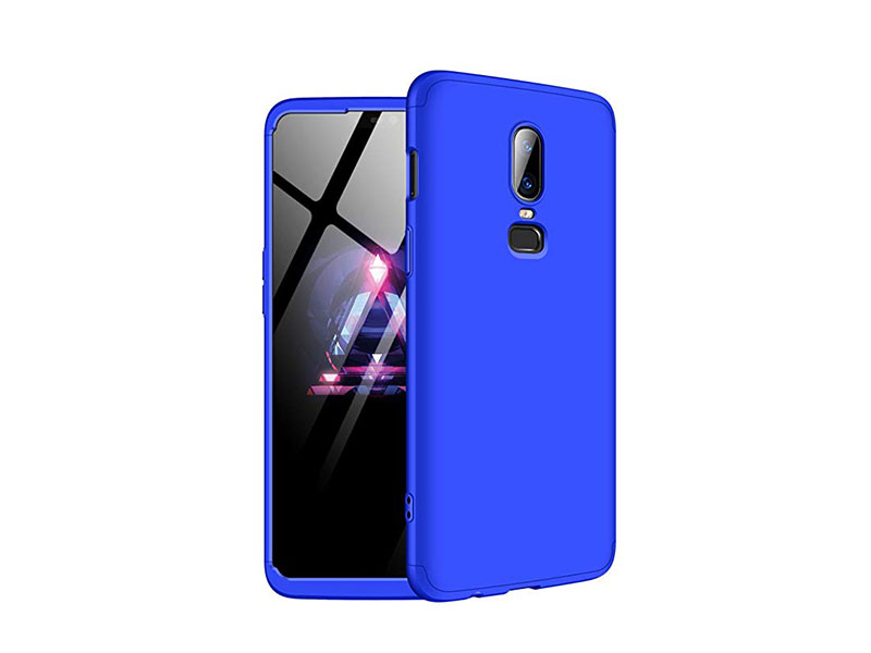 OnePlus 6 360 Protection Blue & Black