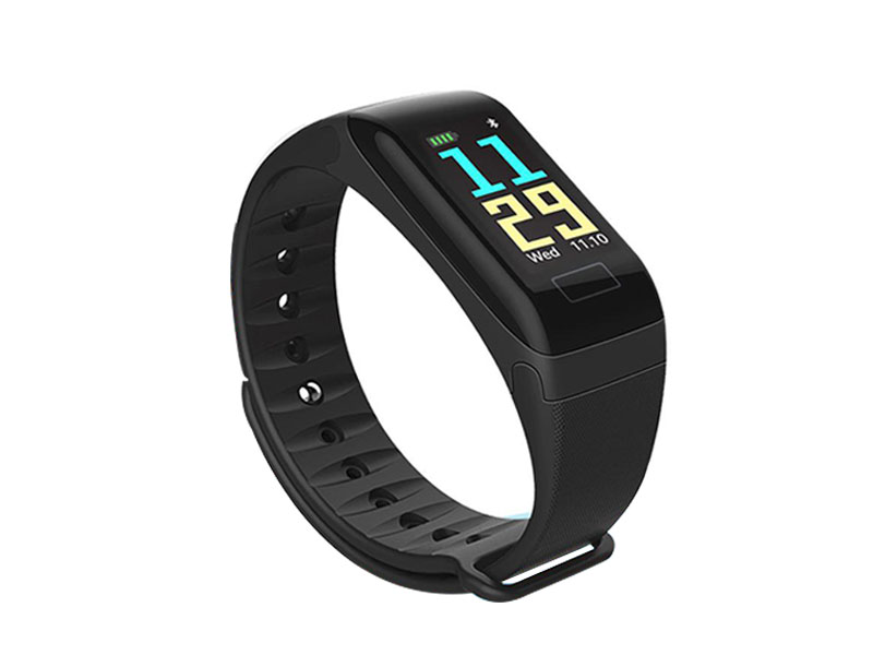 F1 Plus Smart Band Color Screen Blood Pressure Heart Rate