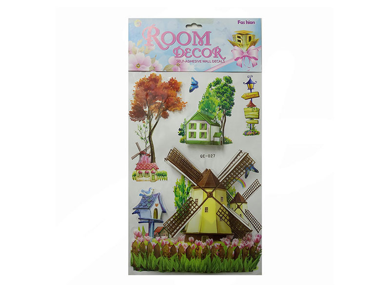Wall Sticker DYI Room Decor (QE-027)