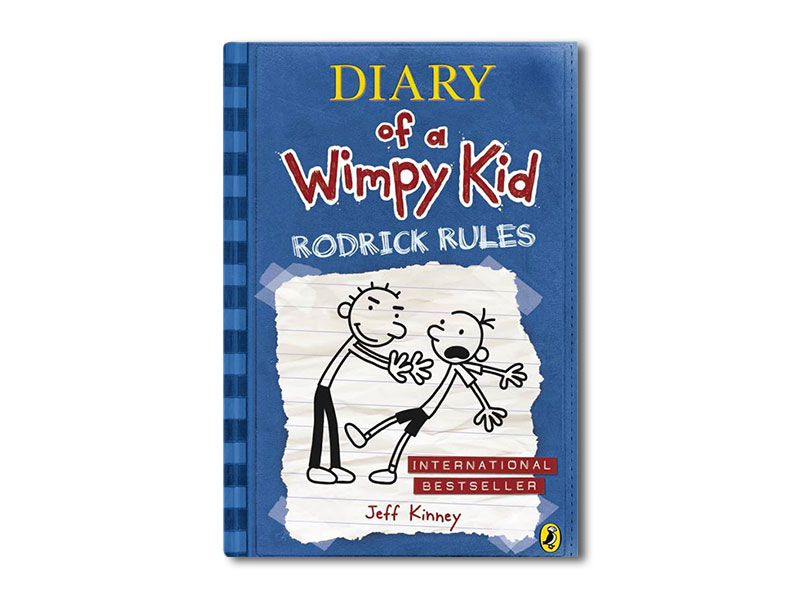 Diary of a Wimpy Kid: Rodrick Rules(Paperback)