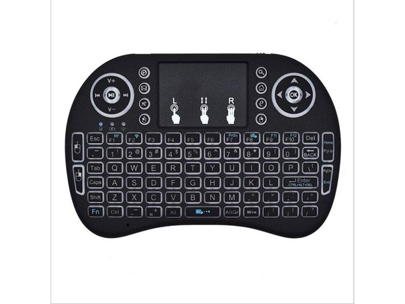 Mini Wireless Keyboard 2.4G With Touchpad Mouse