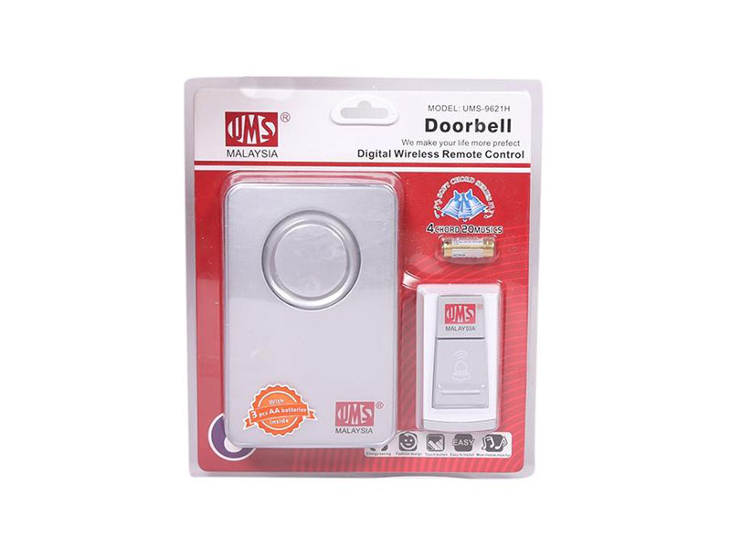 UMS Malaysia Digital Wireless Remote Control Doorbell