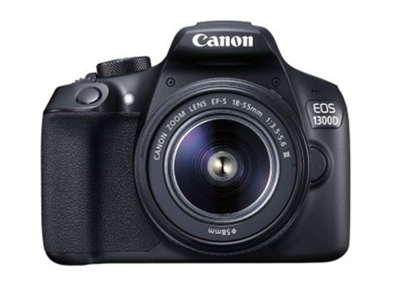 Canon EOS 1300D Camera with EF-S 18-55mm f/3.5-5.6 III Lens