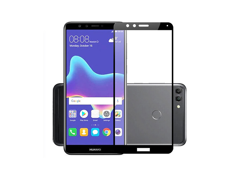 HUAWEI Y9 2018 Full Glued Tempered Glass Screen Protector